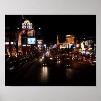 Viva Las Vegas Strip Poster
