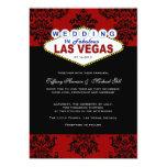 Viva Las Vegas Wedding Invitation 13 Cm X 18 Cm Invitation Card