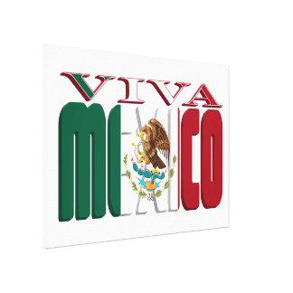 VIVA MEXICO CANVAS PRINT