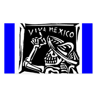 """Viva Mexico- Mexico's """"Day of the Dead"""" Business Card Templates"""