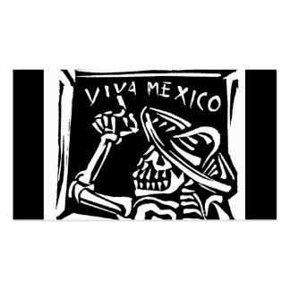 """Viva Mexico- Mexico's """"Day of the Dead"""" Business Card"""