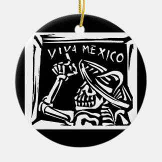 "Viva Mexico- Mexico's ""Day of the Dead"" Christmas Ornament"