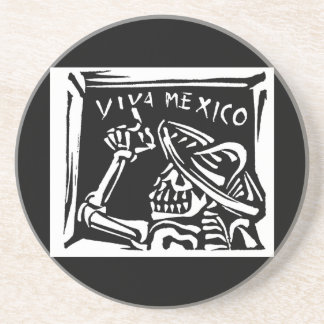 "Viva Mexico- Mexico's ""Day of the Dead"" Drink Coasters"