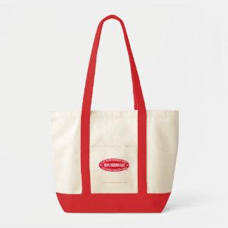 VIVA! NASHVEGAS eat more rhinestones TM Oval Logo Impulse Tote Bag