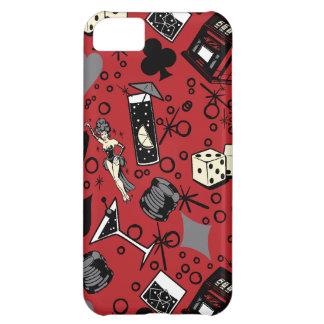 Viva Vegas Casino Retro Gambling Design iPhone 5C Case
