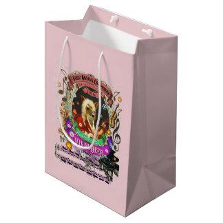 Vivaldeer Great Animal Composer Vivaldi Deer Fawn Medium Gift Bag