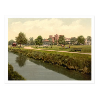 Vivary Park, Taunton, Somerset, England Postcard