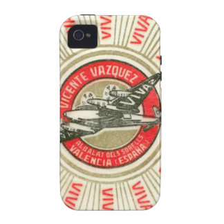 VIVAZ Airplane Vibe iPhone 4 Cover