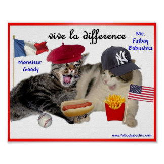 VIVE LA DIFFERENCE POSTER