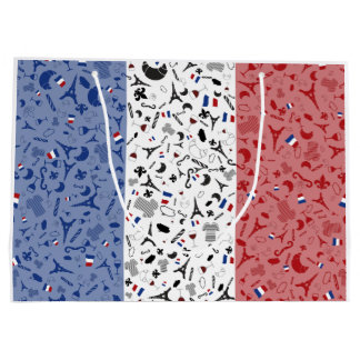 Vive la France Large Gift Bag