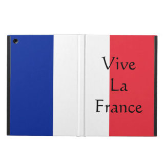 Vive La France Patriotic National Flag iPad Case
