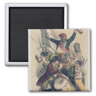 Vive la Republique, 1848 Magnet