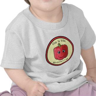 Vive la Vida Sonrie Tee Shirts