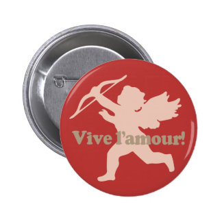 Vive L'amour Cupid buttons