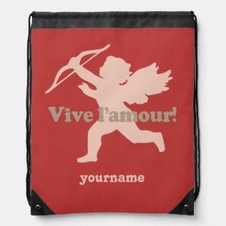 Vive L'amour Cupid custom backpack