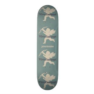 Vive L'amour Cupid custom skateboards