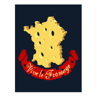 Vive le Fromage Post Cards