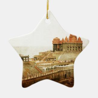 Vivekananda Memorial Ceramic Star Decoration