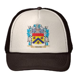Vivian Coat of Arms - Family Crest Cap
