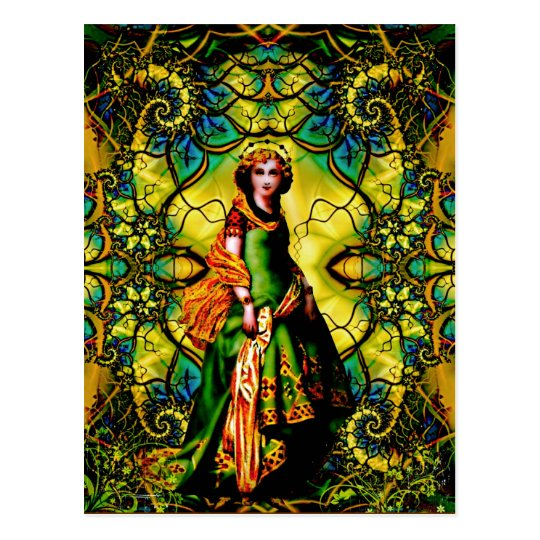 Vivian, Goddess Of Woodland Mystique Postcard