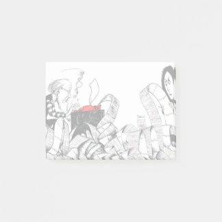 Vivian & Ki Sticky Notes - Art by Ben Wickey