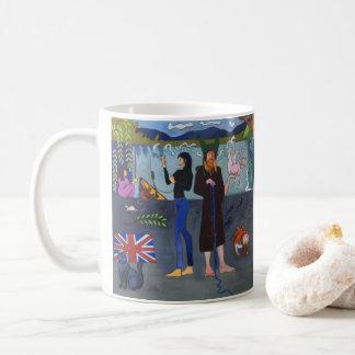 Vivian & Ki Towpath Mug - Art by Sydney Longfellow