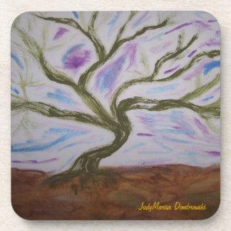 Vivian s Dancing Tree Drink Coasters
