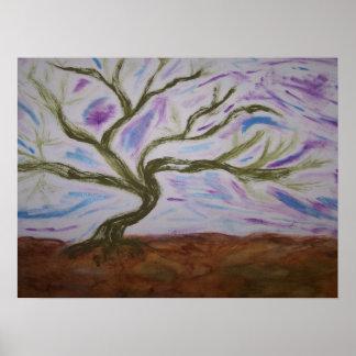 Vivian's Dancing Tree Posters