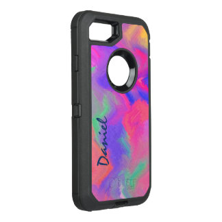 Vivid Abstract Color OtterBox Defender iPhone 8/7 Case