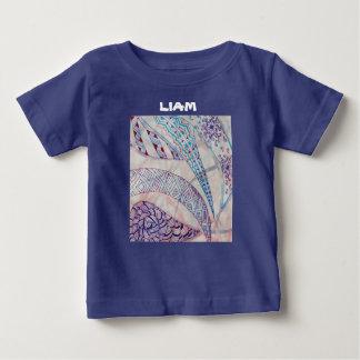 Vivid abstract graphics shirt