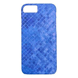 vivid blue diamond metallic tile iPhone 8/7 case