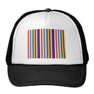 Vivid Color Stripes - 1 Trucker Hat