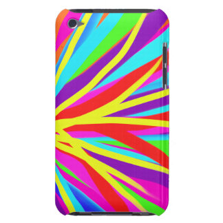 Vivid Colorful Paint Brush Strokes Girly Art iPod Touch Covers