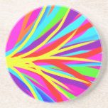 Vivid Colourful Paint Brush Strokes Girly Art