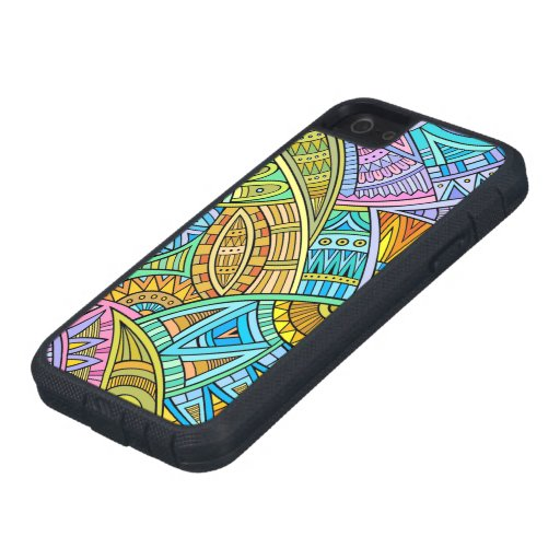 Vivid Contemporary Phone Case - SRF Case For iPhone 5