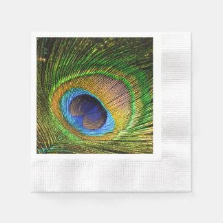 Vivid Feather Paper Napkin