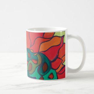 Vivid Floral Mug