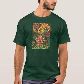 Vivid Garden Cat 2 T-Shirt