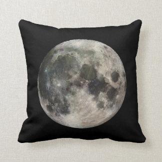 Vivid Image of the Moon Throw Pillow