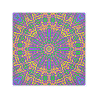 Vivid Kaleidoscope Canvas Print