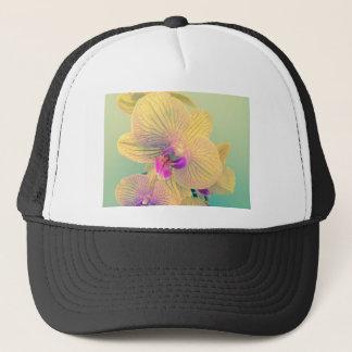 Vivid orchid trucker hat