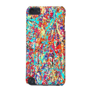 Vivid Paint Splatter Abstract iPod Touch (5th Generation) Cover