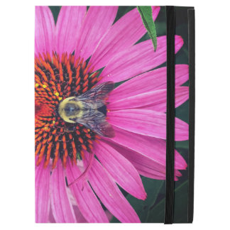 "Vivid Pink Flowers with Bee iPad Pro 12.9"" Case"