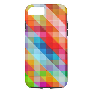 Vivid Retro Square Pattern iPhone 8/7 Case