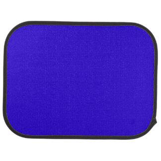VIVID SAPPHIRE BLUE (solid color) ~ Car Mat