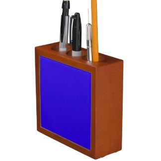 VIVID SAPPHIRE BLUE (solid color) ~ Desk Organiser