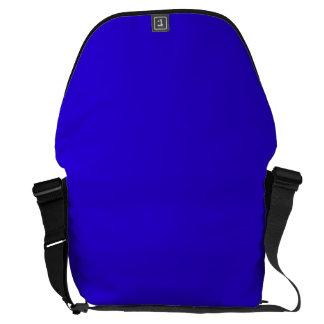 VIVID SAPPHIRE BLUE (solid color) ~ Messenger Bag