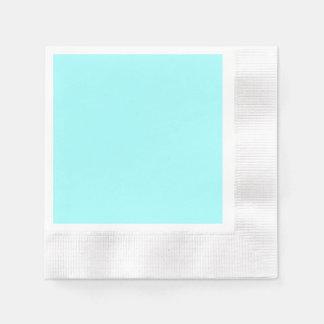 Vivid Sky Blue Paper Serviettes
