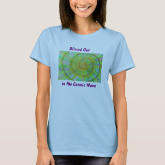 Vivid spiral and kaleidoscope watercolor T-Shirt