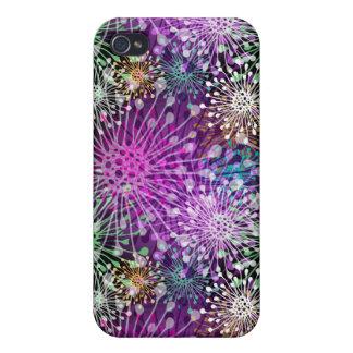 Vivid Spotty Pattern iPhone 4/4S Case
